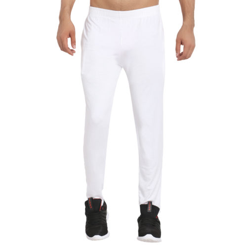 Naturefab Mens Bamboo clothing Joggers Track Pants Lowers White 3